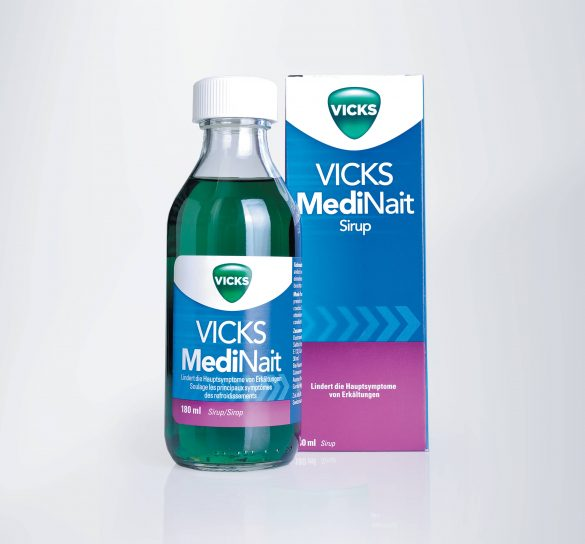 Grippale Infekte? Vicks MediNait