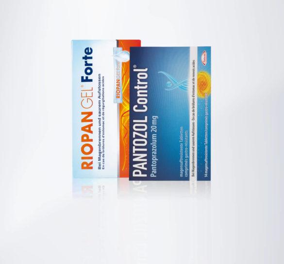 Magenbrennen? Pantozol Control